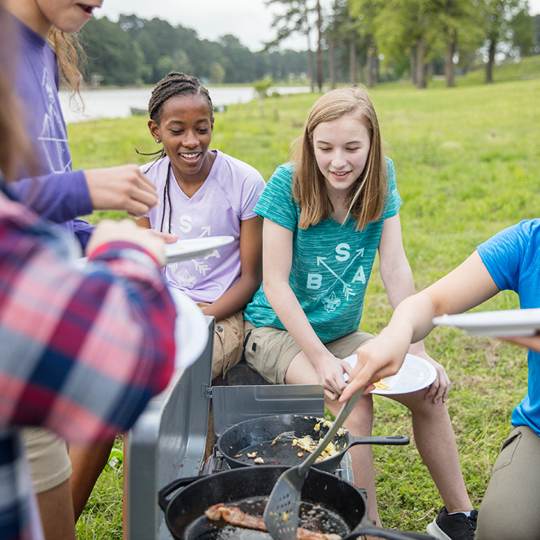 Scouts BSA camping