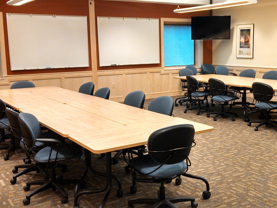 Golden-Burke Scout Center meeting room