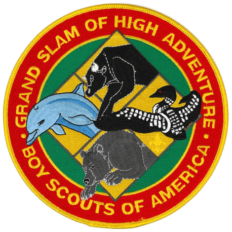Grand Slam of National Adventure Patch